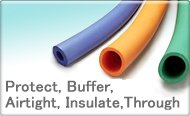 Protect, Buffer, Air-tight, Insulate, Through